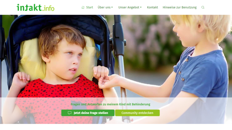 """Selbsthilfeportal für Eltern von """"besonderen"""" Kindern"""